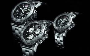 Картинка Часы, швейцарские часы, BREITLING, trio