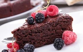 Картинка малина, еда, торт, пирожное, cake, десерт, food, сладкое, dessert, raspberries