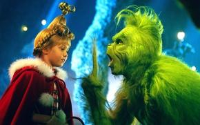 Картинка Сказка, Рождество, Новый год, Уютный фильм, Гринч похититель Рождества, Гринч