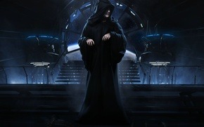 Картинка Star Wars, Плащ, SW The Force Unleashed, Владыка, Ситх