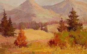 Картинка арт, Sean Wallis, Glorious Peak