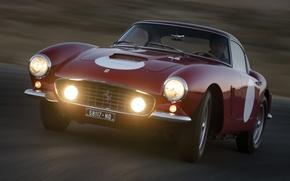 Картинка Ferrari, 250 GT, Competizione, SWB, 1960 года