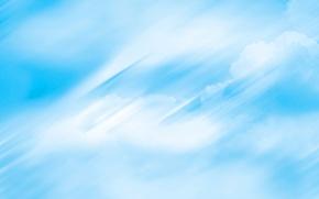 Картинка небо, облака, свет, тучи, абстракция, обои
