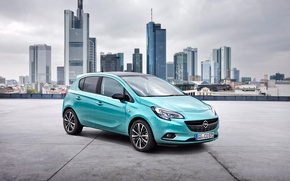 Картинка Corsa, 5-door, Color Edition, корса, опель, 2014, Opel
