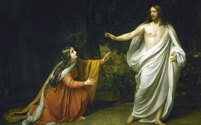 Картинка Христос, Русский музей, Мария Магдалена