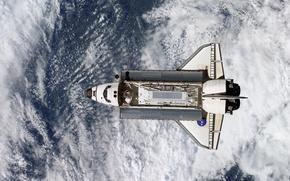 Картинка облака, Небо, космический аппарат NASA