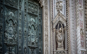 Картинка wall, decorated, florence cathedralm