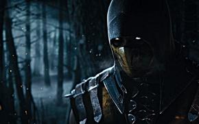 Картинка Scorpion, Mortal Kombat X, Ninja-Ghost, Mortal Kombat 10
