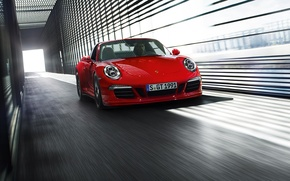 Картинка 911, Porsche, GTS, 2015, Targa 4