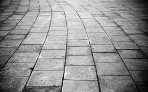 Картинка Плитка, Щели, Тротуар
