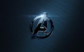 Картинка логотип, Мстители, Avengers