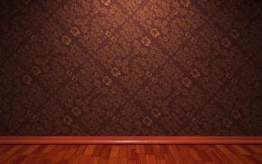 Картинка фон, стена, обои, текстура, пол, плинтус