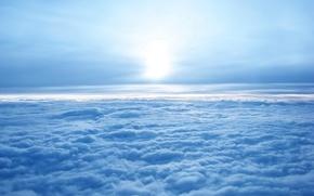 Картинка небо, синий, Облака
