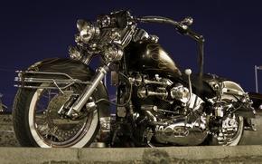 Картинка дизайн, мотоцикл, форма, байк, Harley-Davidson