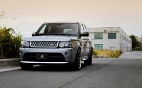 Картинка перед, Land Rover, Range Rover, металлик