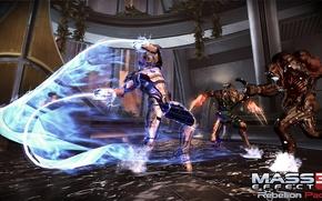 """Картинка Mass Effect 3, жнец, бывший штурмовик """"Цербера"""", дополнение """"восстание"""", Rebellion Pack, Ворка, каннибал, способность """"хлыст"""""""