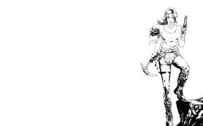 Картинка Девушка, Игры, Лук, Tomb Raider, Лара Крофт, Game, 2013
