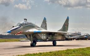 Картинка МиГ-29УБ, ОКБ МиГ, Fulcrum, 120 гв.иап, учебно-боевой истребитель