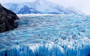 Обои зима, лед, природа