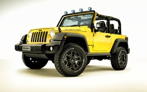 Картинка джип, 2015, Wrangler, Jeep, Rocks Star, Rubicon, вранглер