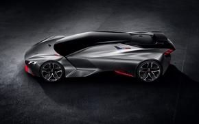 Картинка Concept, Peugeot, суперкар, Vision, пежо, Gran Turismo, 2015