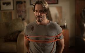Картинка заложник, триллер, мужчины, ужасы, Киану Ривз, Keanu Reeves, Knock Knock, Кто там