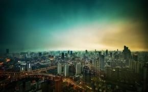Картинка мегаполис, шанхай, shanghai, cityscape, megapolis