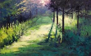 Картинка рисунок, арт, artsaus, morning light