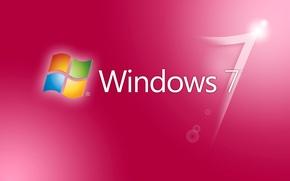 Обои компьютер, обои, логотип, windows 7, эмблема, операционная система