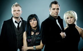 Обои skillet, music group, rock, группа