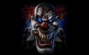 Картинка face, cigar, clown, curative