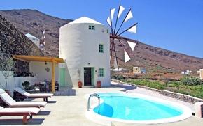 Картинка Греция, Миконос, Windmill villa