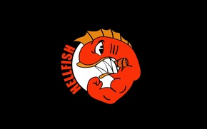 Картинка logo, muscle, power, The Simpsons, Hellfish