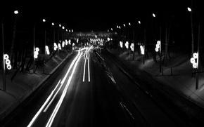Картинка ночь, город