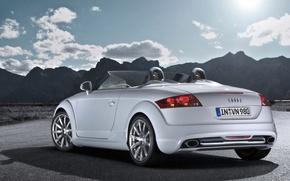 Картинка горы, Audi, кабриолет, clubsport, tt
