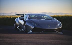 Обои машина, тюнинг, Lamborghini, Huracan