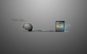 Картинка искры, Мозг, электрический ток