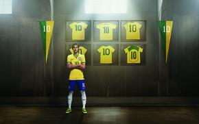 Картинка Спорт, Футбол, Форма, Бразилия, Сантос, Найк, Неймар, NIKE, Neymar da Silva Santos Júnior, Santos Futebol ...