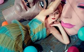 Картинка Jessica Stam, фотосессия, Numero, 2015, Джессика Стэм, канадская топ-модель
