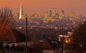Обои Англия, Лондон, панорама