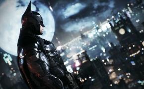 Картинка City, Batman, Бетмен, Arkham Knight