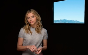Картинка Chloe Moretz, Clouds of Sils Maria, Cannes Film Festival, Зильс-Мария