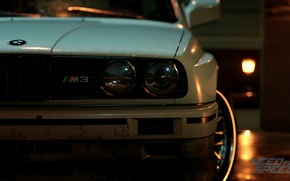Картинка BMW, nfs, E30, нфс, Need for Speed 2015, this autumn, new era