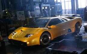 Картинка Lamborghini, суперкар, автомобиль, красивый, Diablo, ламборгини