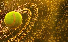 Картинка wallpaper, sport, tennis, ball