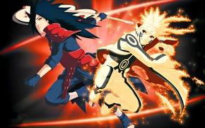 Обои fire, flame, game, naruto, anime, fight, ninja, uchiha, manga, shinobi, uzumaki naruto, uchiha madara, cloak, ...