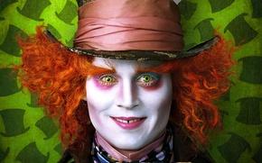 Картинка Джонни Депп, безумный, шляпник