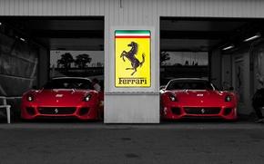 Обои боксы, ferrari 599xx, феррари