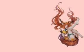 Картинка Игра, арт, девушка, перс, костюм, лисичка, хвостик
