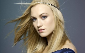 Картинка лицо, милая, блондинка, Yvonne Strahovski